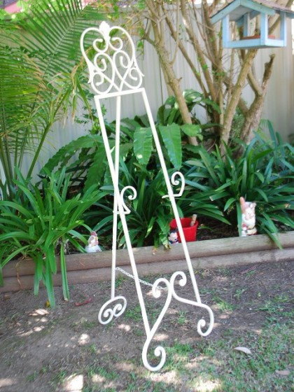 Wedding easel